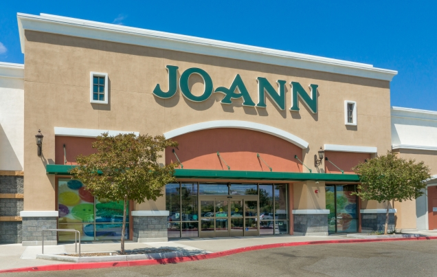 Jo Ann Fabrics and Crafts Store Exterior
